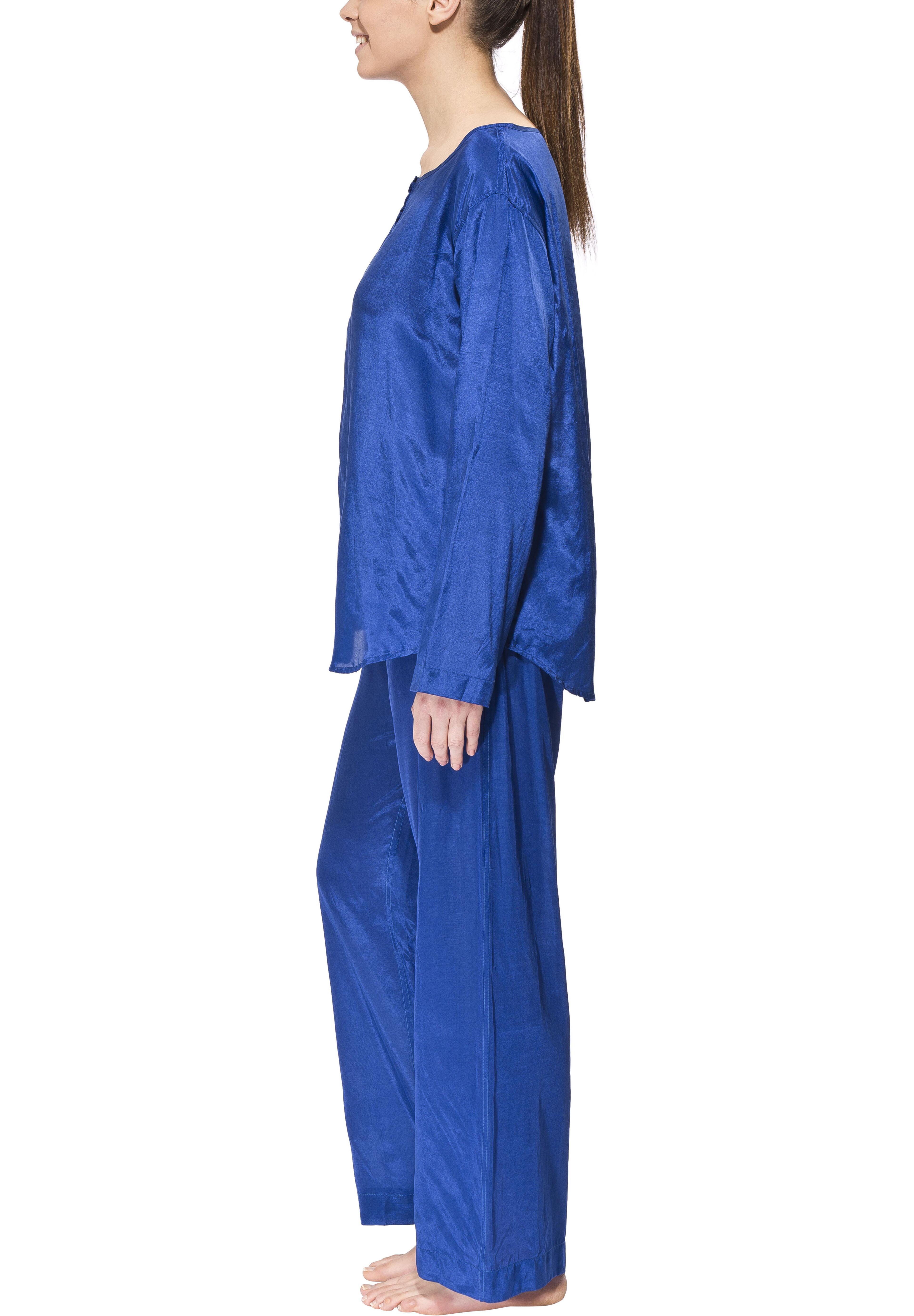 Travelers Tree Travel Pyjama Slaapkleding Dames Women Blauw L